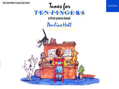 Tunes for Ten Fingers, Paperback; Hall, Pauline.; Very easy piano pieces.
