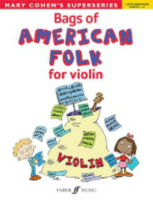 Bags of American Folk for violin Cohen, Mary