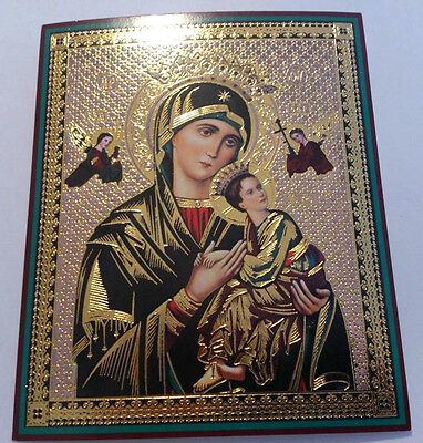 Russian Icon, Mother Of God '' Of The Passion ''