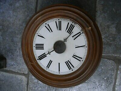 Antique Early 20th Century Wall Clock / Needs Work