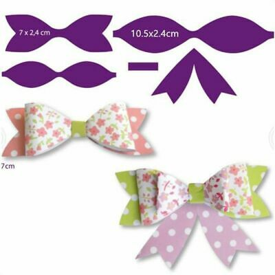 Bow Metal Cutting Dies Stencil DIY Scrapbooking Paper Card Embossing Craft Decor