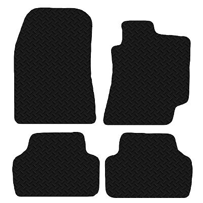 UKB4C Tailored Rubber Car Mats for Is250 Is220 05-13 Set of 4 With 2 Clips