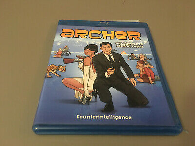 MINT Archer: The Complete Season Three (Blu-ray Disc, 2013, 2-Disc Set)