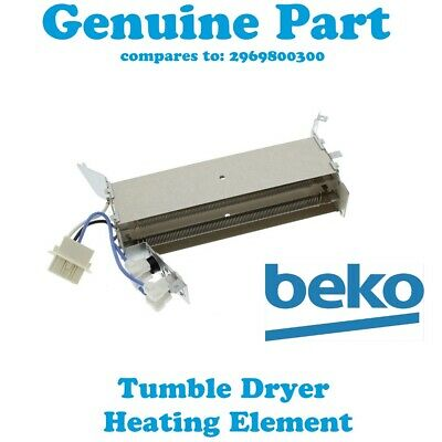 BEKO Tumble Dryer Heater Heating Element With Thermostats  DRCT70W