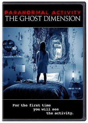 Paranormal Activity: The Ghost Dimension DVD Movie Horror Scary
