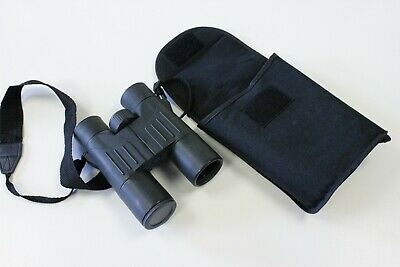 Binoculars 8 x 32 BAK 4 Prism Unbranded with Soft Case and Strap