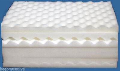 Egg Box Foam Profiled Sheets approx 28cm x 36cm   BRAND NEW    Pack of 15 sheets