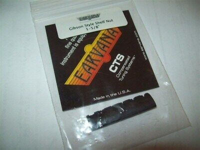 """NEW - Earvana Drop-In Compensated Nut For Gibson, 1-5/8"""" - BLACK"""