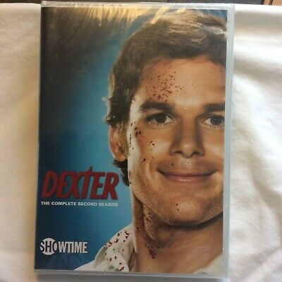 Dexter - The Complete Second Season (DVD, 2008, Set) New