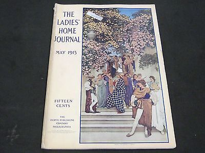 1913 May Ladies' Home Journal Magazine - Maxfield Parrish Front Cover - St 4465