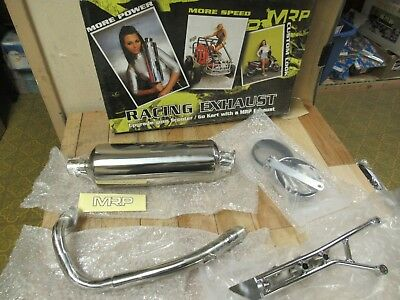Mrp Scooter Complete Performance Exhaust System - Ruckus 50 / Zoomer / Bws50