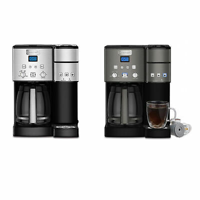 Cuisinart SS-15 12-Cup Coffee Maker and Single-Serve Brewer (Choice of Color)