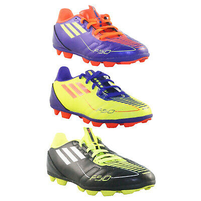 sale retailer dd898 b382a NEW Adidas F5 TRX HG J Football Trainers Sports Kids G40325 G40323 G43238  SALE