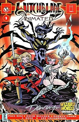 Witchblade Animated #1 Wizard Exclusive Edition Signed By Artist Darwyn Cooke