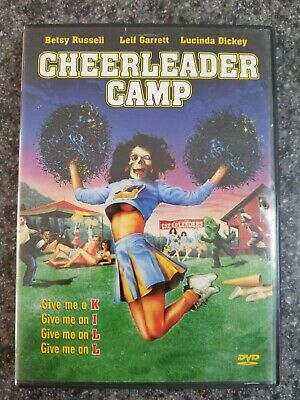 Cheerleader Camp DVD Betsy Russell Lucinda Dickey Splatter Anchor Bay OOP