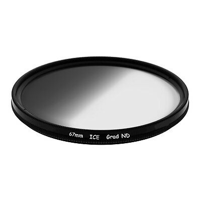ICE Slim 67mm Grad Filter Graduated Neutral Density ND ND8 Optical Glass GND8 67