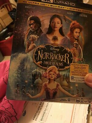The Nutcracker and the Four Realms (4K Ultra HD + Blu-Ray + Digital Code)
