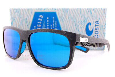 d67e9b1f5904d New Costa Del Mar Sunglasses BAFFIN Recycled Fishing Net Gray Blue Mirror  580G