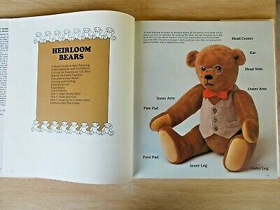 The Teddy Bear Book~Marsha Moore~60+ Projects~Sew~Knit~Crochet~Embroidery~HBWC