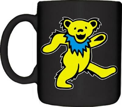 GRATEFUL DEAD Dancing Bear Ceramic 11 oz. Coffee Mug Cup rock music band