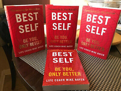 Best Self Be You Only Better Hardcover Book by Mike Bayer New Free Fast Shipping