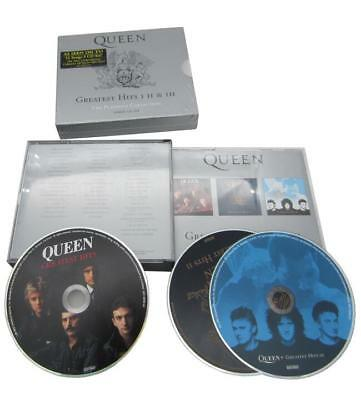 Queen Greatest Hits I, II, & III Platinum Collection Box New Sealed