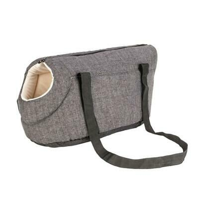 Medium Dog Cat Light Pet Carrier Handbag Comfort Travel Shoulder Bag Glay