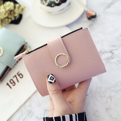 Fashion Women Ladies Leather Purse Money Clip Wallet Clutch Card Bag Holder Gift