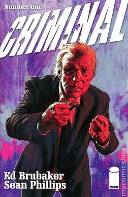 Criminal (3rd Series) 1B 2019 Phillips Variant 2nd Printing NM Stock Image