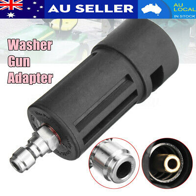 Pressure Washer Gun Lance Fitting Adapter For Karcher K to 1/4'' Quick Connect