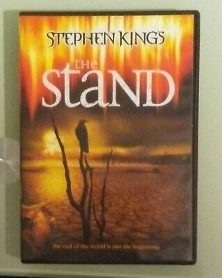 stephen king king's  THE STAND    DVD   2 disc set