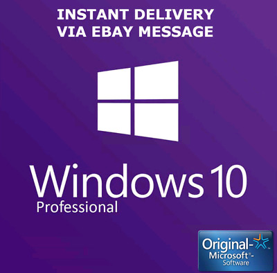 Genuine Windows 10 Professional Pro Key 32 / 64Bit Activation Code Key Retail