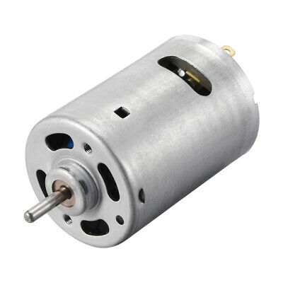 DC Motor 12V 10000RPM 0.4A Electric Motor Round Shaft for RC Boat Toys DIY 2Pcs