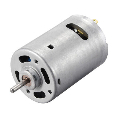 DC Motor 12V 10000RPM 0.4A Electric Motor Round Shaft for RC Boat Toys Model DIY
