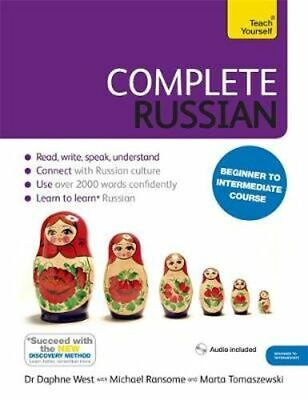 NEW Complete Russian (Learn Russian With Teach Yourself) By Daphne West Paperbac
