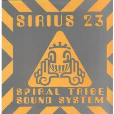 "SPIRAL TRIBE SOUND SYSTEM Sirius 23 12"" VINYL 4 Track B/w Earthworm, Going All"