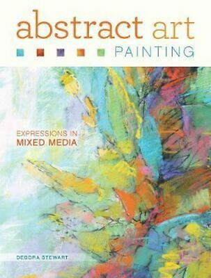 NEW Abstract Art Painting By Debora Stewart Paperback Free Shipping