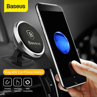 Baseus Universal Magnetic Ball Magnet Car Holder Mount GPS Mobile Smart Phone