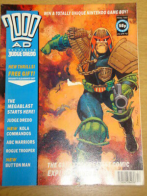 2000Ad #780 British Weekly Comic Judge Dredd *