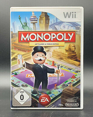 "NINTENDO WII SPIEL"" MONOPOLY Classic & World Edition "" DEUTSCH/ OVP"
