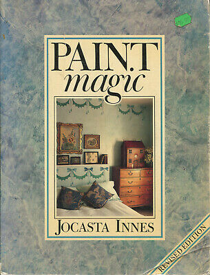 PAINTING  BOOK - PAINT MAGIC by JOCASTA INNES - Revised Edition