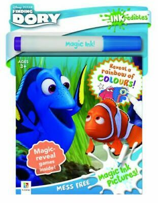NEW Inkredibles Finding Dory Magic Ink Pictures By Hinkler Books Activity Kit