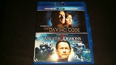 2 Disc Double Feature Angels & Demons The Da Vinci Code Blu Ray Dvd Movie Video