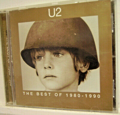 U2 - 'The Best of 1980-1990' -  (CD 1998)**NR.MINT**