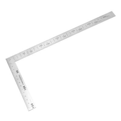 150mmx300mm Stainless Steel Framing Square Right Angle Ruler Try Square Ruler