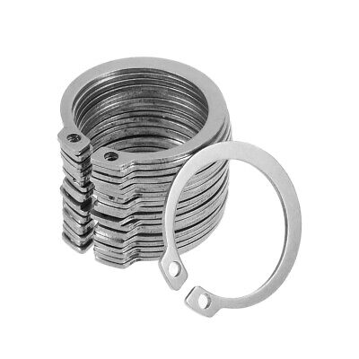 39mm External Circlips C-Clip Retaining Snap Rings 304 Stainless Steel 20pcs