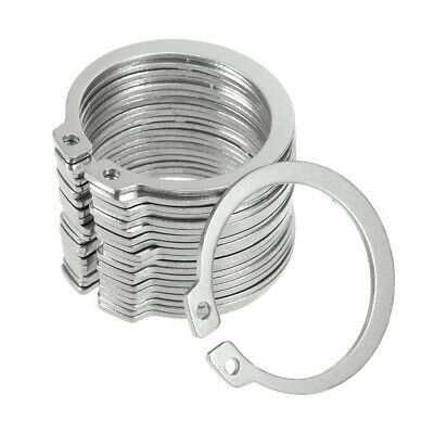 41mm External Circlips C-Clip Retaining Snap Rings 304 Stainless Steel 20pcs