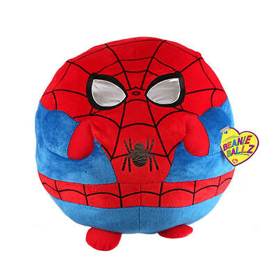 ad0be086ef2 TY BEANIE BALLZ Spider-Man Clip Key Chain Mini 2