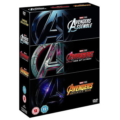 Avengers 1-3 - Marvel movie The  New and Sealed DVD Region 2 UK Free Postage