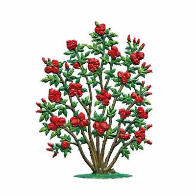 Rosebush, made of pewter - Wilhelm Schweizer -